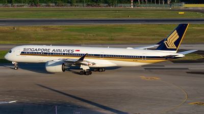 9V-SHE - Airbus A350-941 - Singapore Airlines