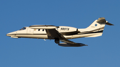 N89TB - Gates Learjet 35A - Private