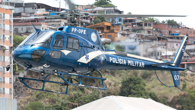 PP-OPE - Helibrás AS-350B3 Esquilo - Brazil - Military Police