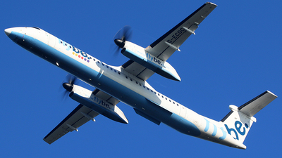 A picture of GECOC - De Havilland Canada Dash 8400 - [4197] - © Brian T Richards