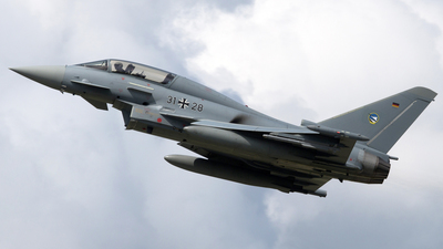 31-28 - Eurofighter Typhoon EF2000(T) - Germany - Air Force