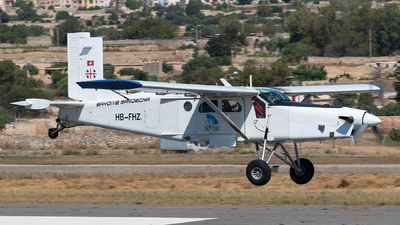 HB-FHZ - Pilatus PC-6/B2-H4 Turbo Porter - Skydive Sardegna