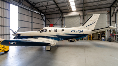 VH-PGA - Socata TBM-700B - Private
