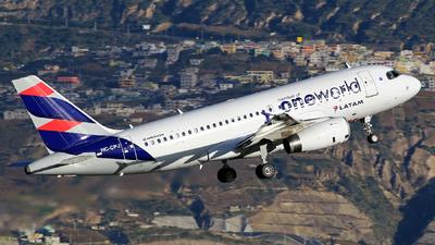 HC-CPJ - Airbus A319-132 - LATAM Airlines
