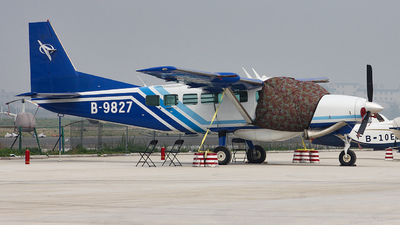 B-9827 - Cessna 208B Grand Caravan - Henan Anyang General Aviation