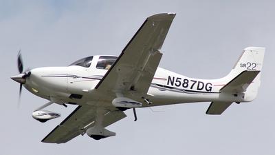 N587DG - Cirrus SR22-GTS - Private