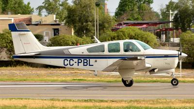 CC-PBL - Beechcraft F33A Bonanza - Private
