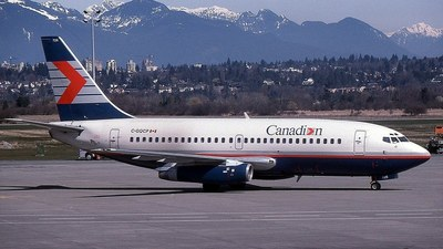 C-GQCP - Boeing 737-217(Adv) - Canadian Airlines International