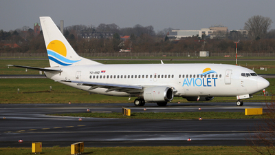 A picture of YUAND - Boeing 7373H9 - AirSERBIA - © Darius Swoboda