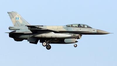 027 - Lockheed Martin F-16DJ Fighting Falcon - Greece - Air Force