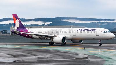 A picture of N202HA - Airbus A321271N - Hawaiian Airlines - © Chris Phan