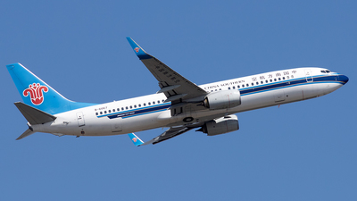 A picture of B6067 - Boeing 73781B - China Southern Airlines - © XPHNGB