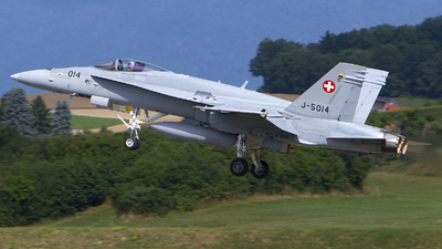 J-5014 - McDonnell Douglas F/A-18C Hornet - Switzerland - Air Force