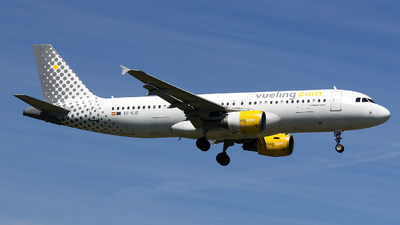 EC-KJD - Airbus A320-216 - Vueling Airlines