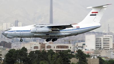 YK-ATF - Ilyushin IL-76MD - Syria - Air Force