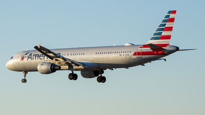 A picture of N179UW - Airbus A321211 - American Airlines - © Stephen J Stein