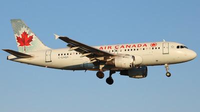 C-GAQX - Airbus A319-114 - Air Canada