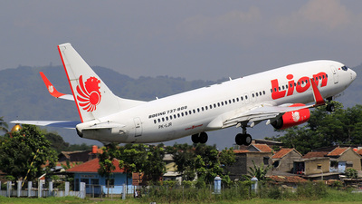 PK-LJR - Boeing 737-8GP - Lion Air