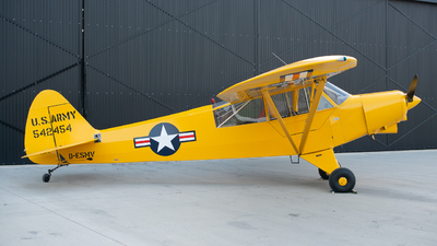 D-ESMV - Piper PA-18-135 Super Cub - Private