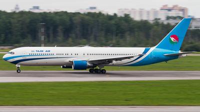 EY-756 - Boeing 767-322 - Tajik Air