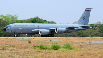 752 - Boeing KC-135R Stratotanker - Singapore - Air Force