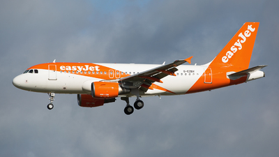 G-EZBY - Airbus A319-111 - easyJet