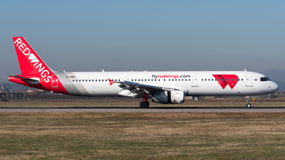 VP-BER - Airbus A321-231 - Red Wings