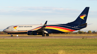 A picture of SERLK - Boeing 73783N(BCF) - West Atlantic UK - © Calin Horia Lupu