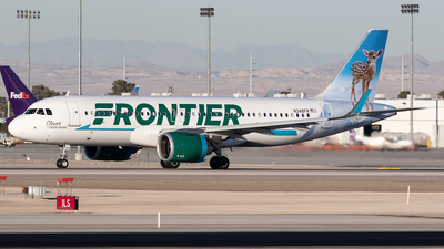 N348FR - Airbus A320-251N - Frontier Airlines