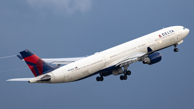 A picture of N805NW - Airbus A330323 - Delta Air Lines - © JinZi