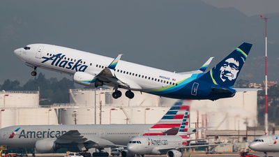 N534AS - Boeing 737-890 - Alaska Airlines