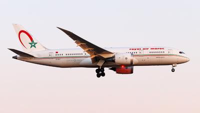 A picture of CNRGT - Boeing 7878 Dreamliner - Royal Air Maroc - © Oliver Richter
