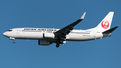 JA318J - Boeing 737-846 - Japan Airlines (JAL)
