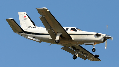HB-KOL - Socata TBM-700 - Private