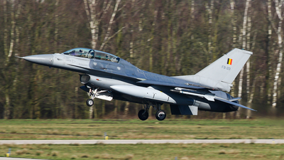 FB-20 - General Dynamics F-16BM Fighting Falcon - Belgium - Air Force