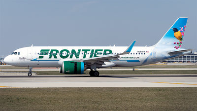 A picture of N359FR - Airbus A320251N - Frontier Airlines - © Mingfei S
