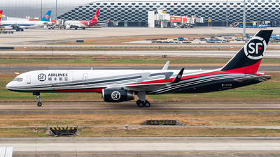 A picture of B1173 - Boeing 7572B7(PCF) - SF Airlines - © Zhou Qiming