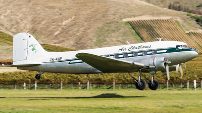 ZK-AWP - Douglas DC-3C - Air Chathams