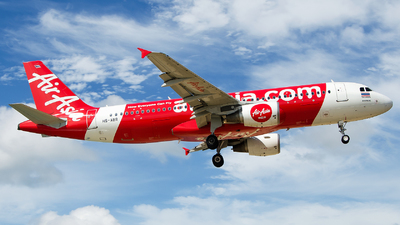 A picture of HSABR - Airbus A320216 - AirAsia - © Hubay Andor