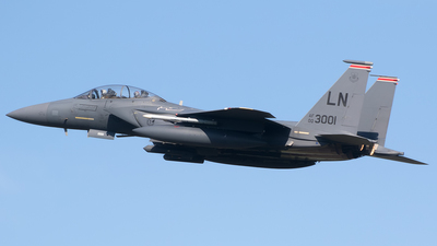 00-3001 - Boeing F-15E Strike Eagle - United States - US Air Force (USAF)