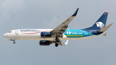 A picture of XAZAM - Boeing 737852 - Aeromexico - © Antonio Velasco (MAS Aviation Press)