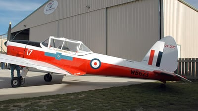 ZK-DUC - De Havilland Canada DHC-1 Chipmunk 22 - Private