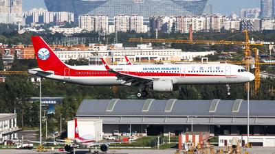 B-300D - Airbus A321-271N - Sichuan Airlines