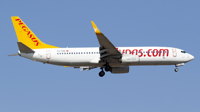 A picture of TCCRE - Boeing 73782R - Pegasus Airlines - © Bora Polater