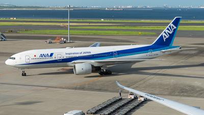 JA708A - Boeing 777-281(ER) - All Nippon Airways (ANA)