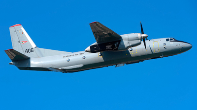 406 - Antonov An-26 - Hungary - Air Force