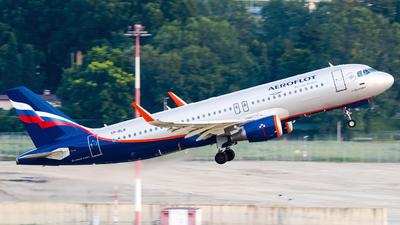 A picture of VPBLR - Airbus A320214 - Aeroflot - © Alexander Lebedev