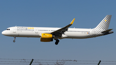 A picture of ECMHB - Airbus A321231 - Vueling - © Luke Dogan