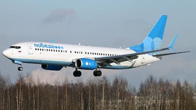 A picture of VPBQZ - Boeing 7378MC - Pobeda - © Malyshev Andrei