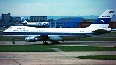 9K-ADD - Boeing 747-269B(M) - Kuwait Airways